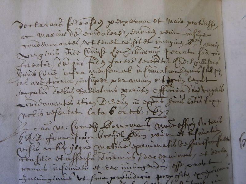 Het vonnis dat brutale uitlatingen bestraft met een bedevaart naar de Sint-Willibrorduskerk in Antwerpen, 1686
