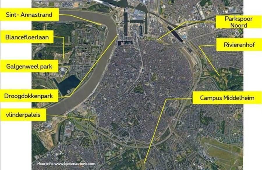 Leuke locaties om te vliegeren in en rond district Antwerpen