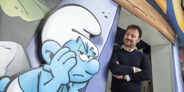 Jeroen Jespers in Comics Station Antwerp