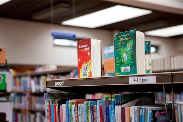 Jeugdboeken in bib Kielpark
