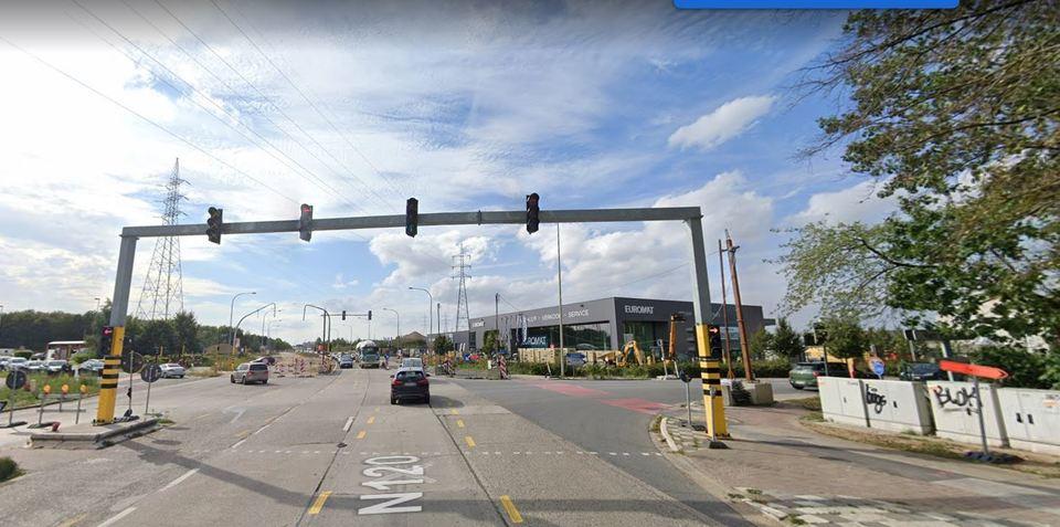 kruispunt Merksemsebaan-Deurnesteenweg