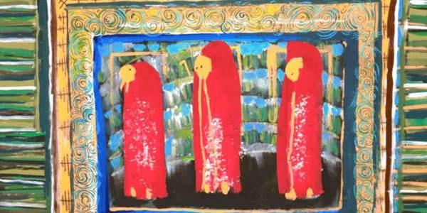 Schilderij van Maryam Salamat