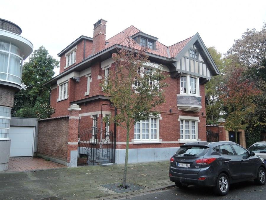 Woning ontworpen door de architect G. Traets (Vlaamsekunstlaan 3)