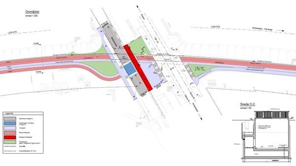 Plan fietstunnel