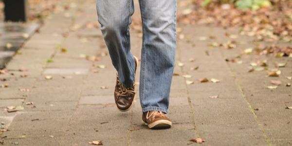 Wandelende voeten