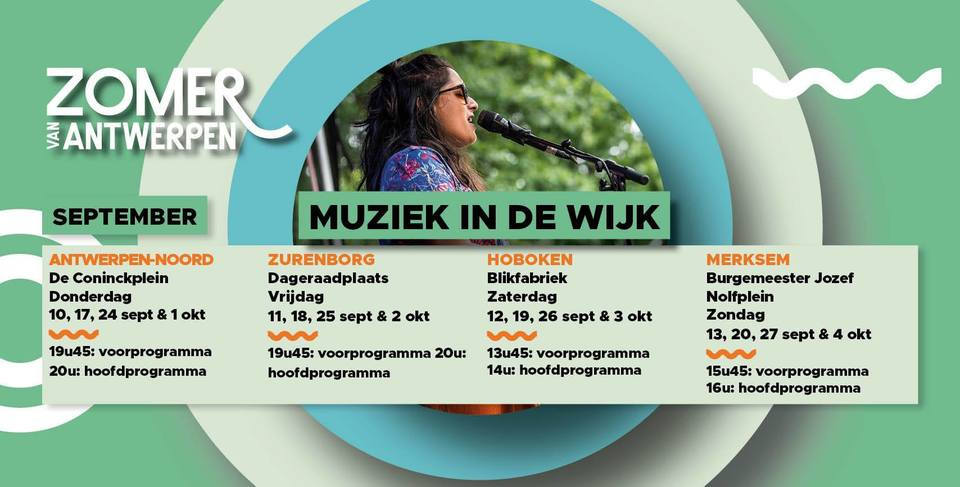 Programma Muziek in de wijk