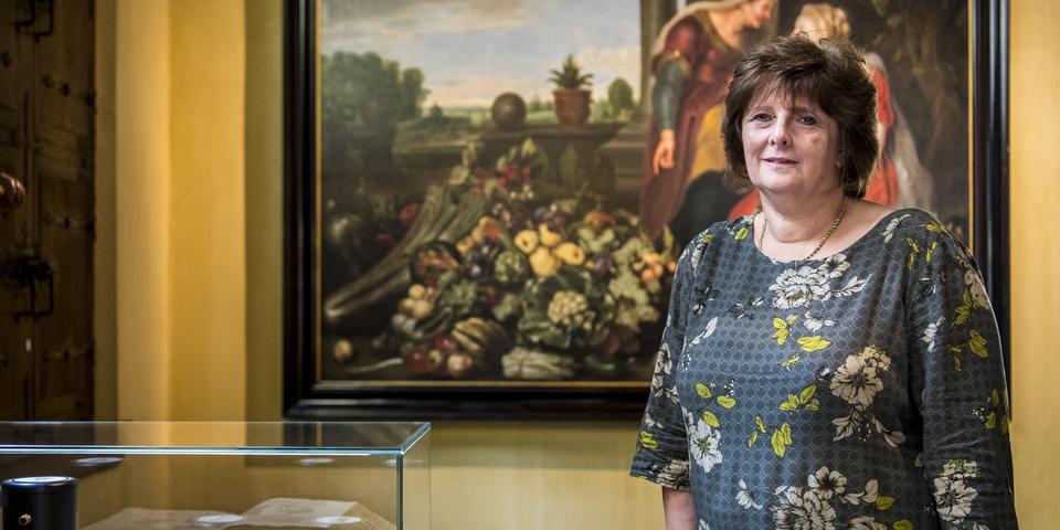 Hildegrad Van De Velde in museum Snijders&Rockoxhuis
