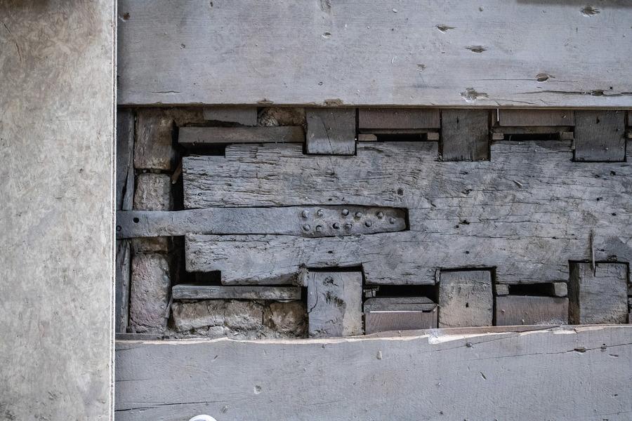 Historische elementen in de vloeropbouw