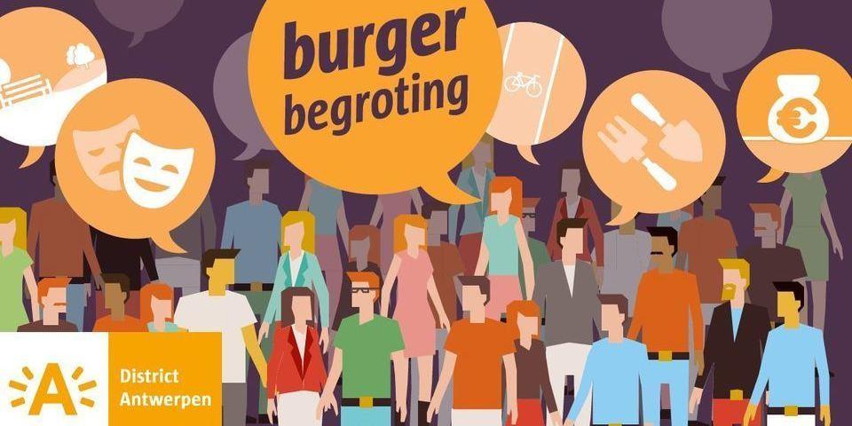 burgerbegroting district Antwerpen