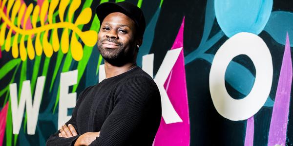 Adams Mensah, acteur en filmmaker.
