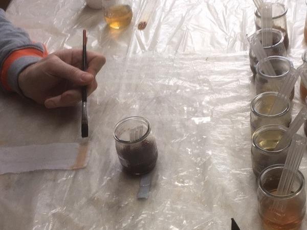 Hand schildert