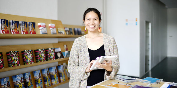 QianQian, medewerker Visit Antwerpen