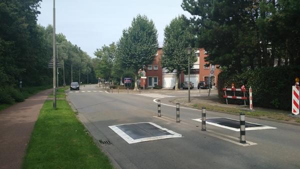 rijbaankussens Jozef Leemanslaan