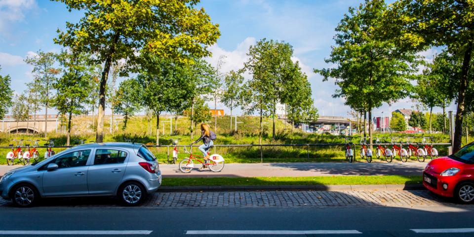 Fietsen huren of delen in Antwerpen