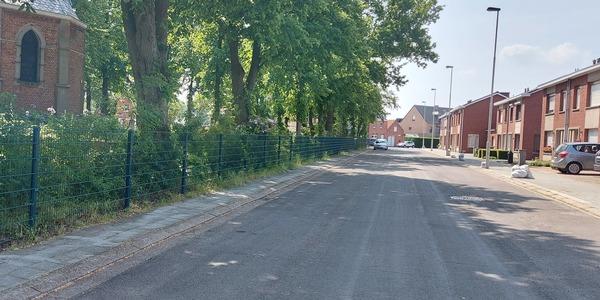 Foto over de Kapelstraat in Berendrecht