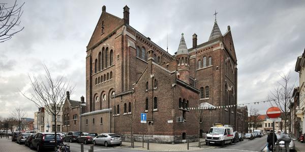 Afbeelding van kerk de Peperbus in Borgerhout