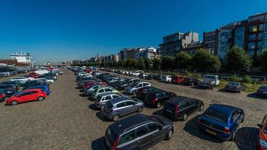 Archeologisch onderzoek aan parking Scheldekaaien
