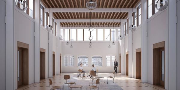 Het 'Verlicht Verdiep' van het Antwerpse stadhuis
