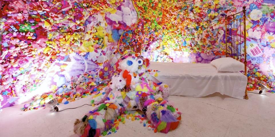 Het kunstwerk 'Colorful Rebellion - Seventh Nightmare', Sebastian Masuda