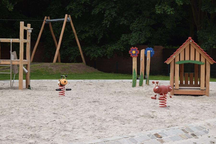 Speelzone en kabelbaan