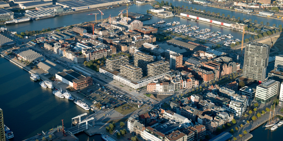 Luchtfoto Cadixwijk