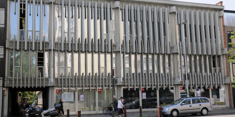 Ingang bibliotheek Couwelaar