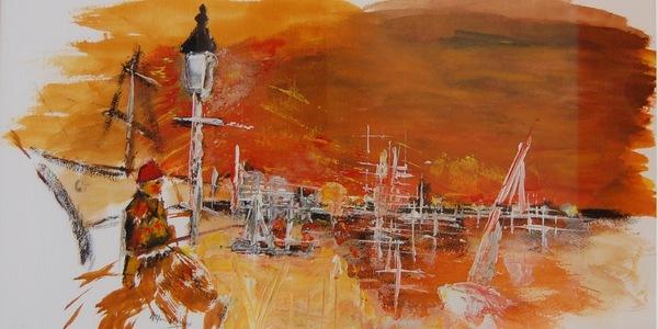 Eén van de deelnemende werken van de tentoonstelling 'Merksemse Meesters'