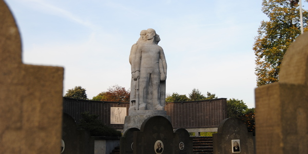 Het ereperk voor oorlogsslachtoffers op de Wilrijkse begraafplaats Steytelinck