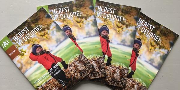 Cover seizoensbrochure district Deurne (editie herfst)
