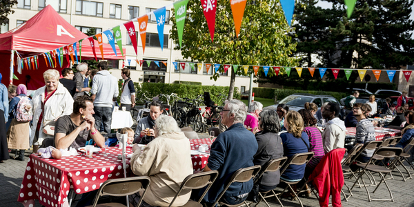 Straatfeest via Stadsmakers