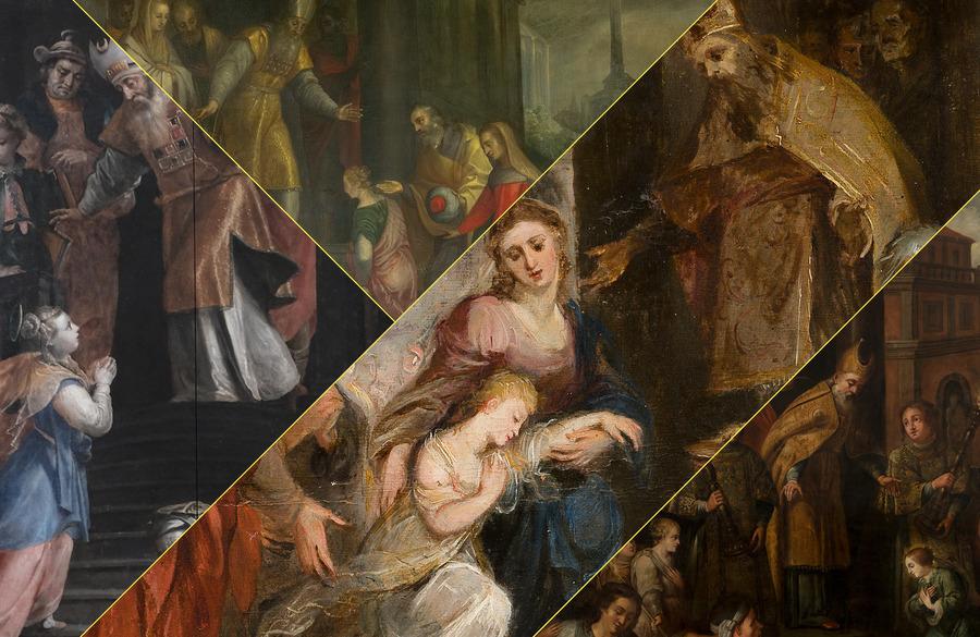 Maria Presentatie in de beeldende kunst