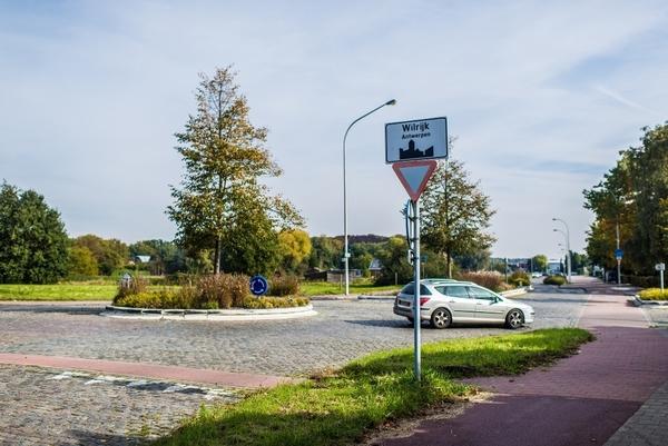 Een rond punt in Wilrijk