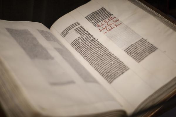 oude druk uit collectie Museum Plantin-Moretus