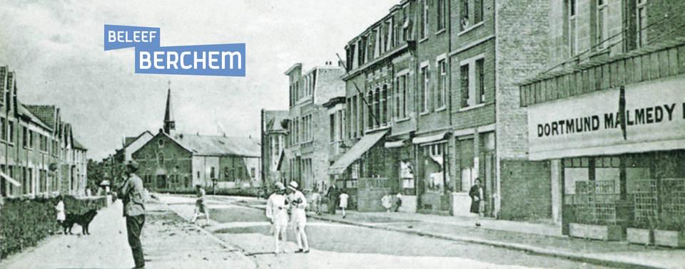 Oud beeld van Helderstraat in wijk Groenenhoek