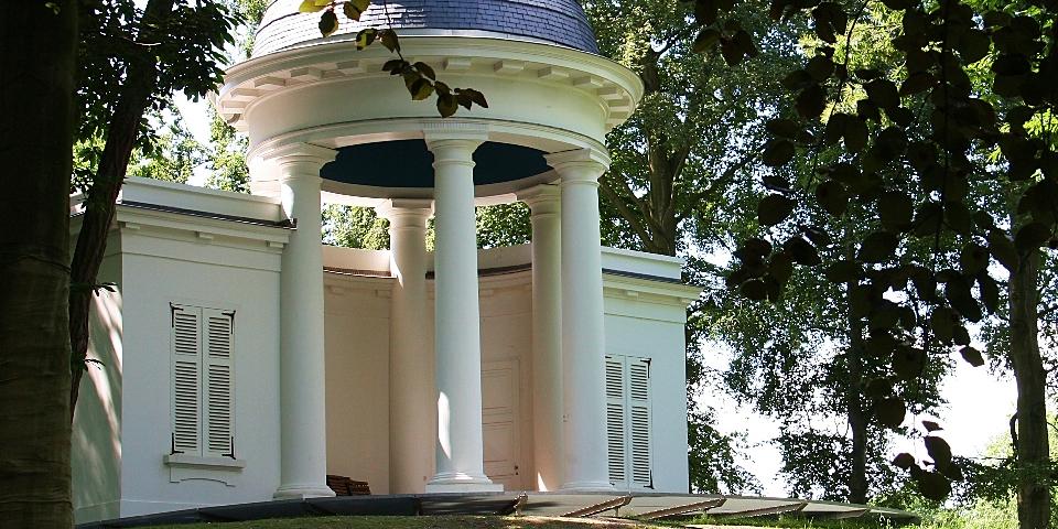 Belvedère in park Sorghvliedt