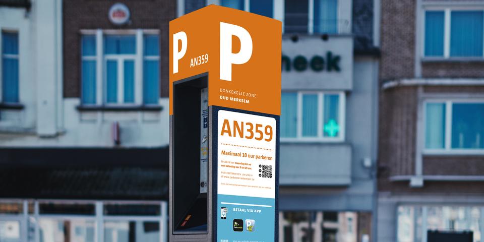 Nieuwe parkeerautomaten