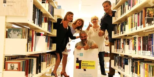 Stem bib Arena tot de beste bibliotheek van Vlaanderen?