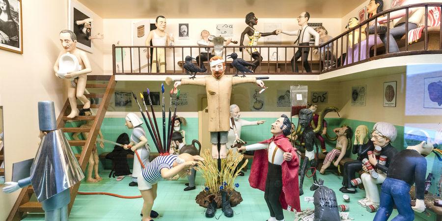 Zaal van het Museum op Schaal