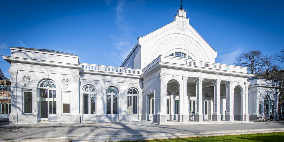gerenoveerd gebouw Harmonie