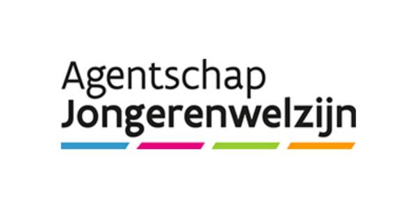 Het logo van het Agentschap Jongerenwelzijn.