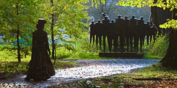 Opnames Hearts of Stone in Middelheimpark