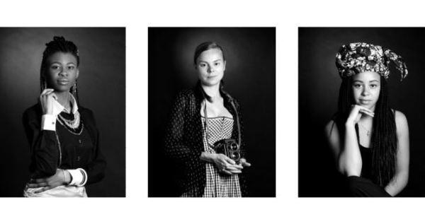Portretten uit de foto-expo 'Vrouwelijk diversiteit' in Kubus Permeke