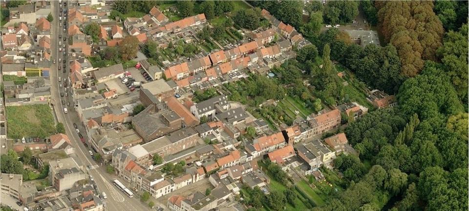 Luchtfoto Deurne Dorp zuid