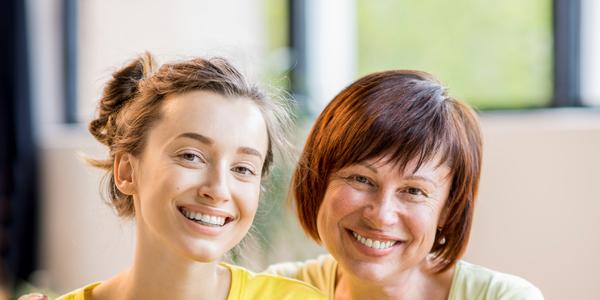 Sportaanbod op maat - Sportieve moeder en dochter