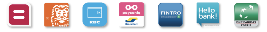U kunt in de stedelijke zwembaden betalen via smartphone met: de Payconiq by Bancontact-app en de betaalapps van Belfius, ING, KBC, BNP PAribas Fortis, Fintro en Hellobank!