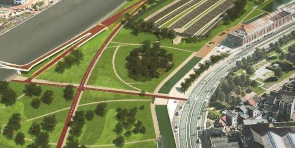 De Grote Verbinding - Ringpark Lobroekdok