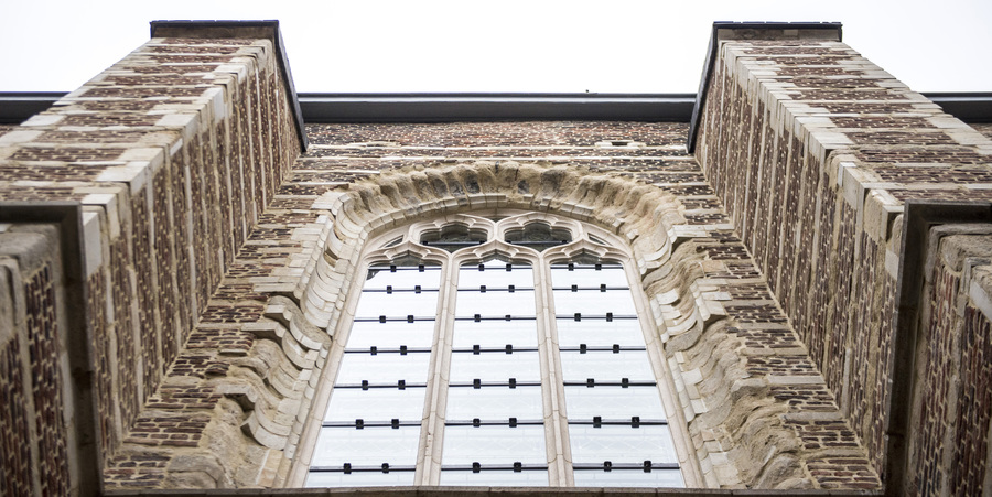 Gevel kerk Brabantse Olijfberg