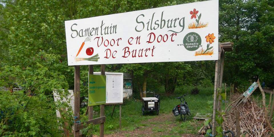 In samentuin Silsburg wordt er samen getuinierd door buurtbewoners