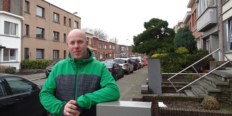 Kristof Ledens, bewoner van de Valaarwijk
