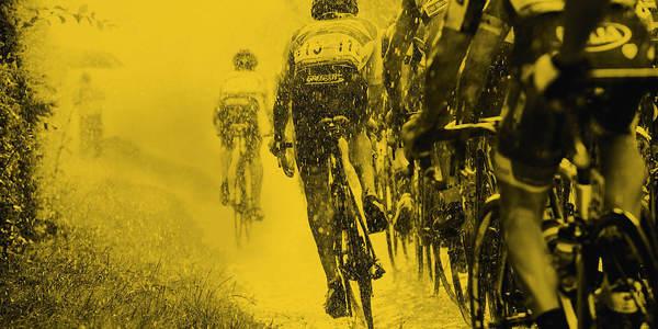 Campagnebeeld van de Ronde in Antwerpen